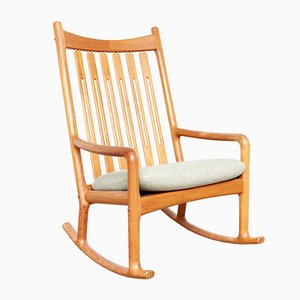 Rocking Chair by Hans Olsen for Juul Kristensen, 1970s
