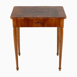 Biedermeier Cherrywood and Walnut Side Table, 1810s