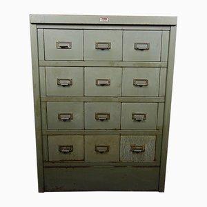 Mueble industrial vintage de Acior, años 50