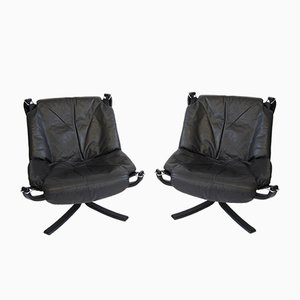 Falcon Chairs by Sigurd Ressel for Vatne Møbler, 1970s, Set of 2