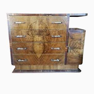 Vintage Italian Rounded Dresser, 1930s