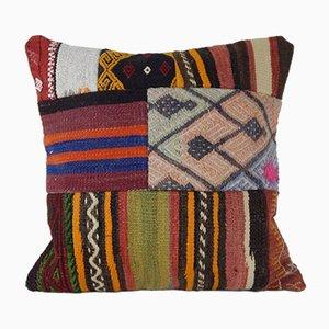 Federa Kilim fatto a mano di Vintage Pillow Store Contemporary