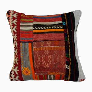 Dekorativer Patchwork Kissenbezug von Vintage Pillow Store Contemporary