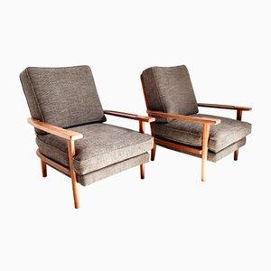 Italienische Vintage Sessel, 1960er, 2er Set