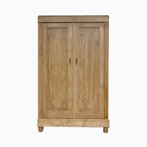 Antique Softwood Wardrobe, 1900s