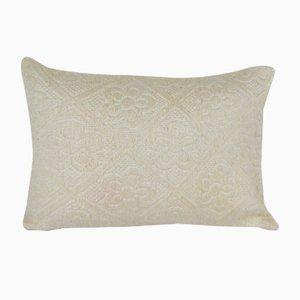 Housse de Coussin Lumbar en Laine par Vintage Pillow Store Contemporary