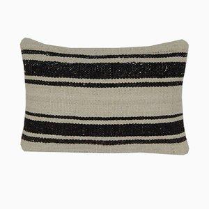 Federa decorativa Kilim intrecciata a mano di Vintage Pillow Store Contemporary