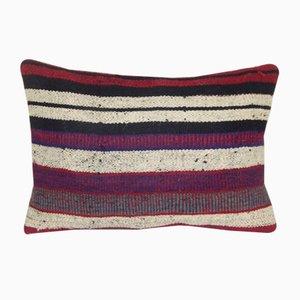 Kelim Kissenbezug mit Stammesmuster von Vintage Pillow Store Contemporary