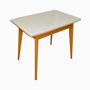 Mid-Century Formica Wooden Kitchen Table