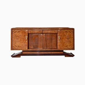 Italienisches Art Déco Sideboard aus Palisander & Nussholz, 1930er