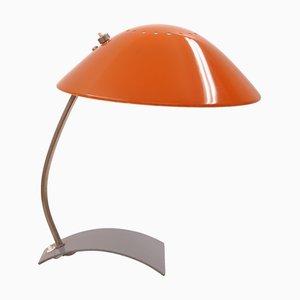 Lámpara de mesa modelo 6840 de Christian Dell para Kaiser Idell / Kaiser Leuchten, años 60