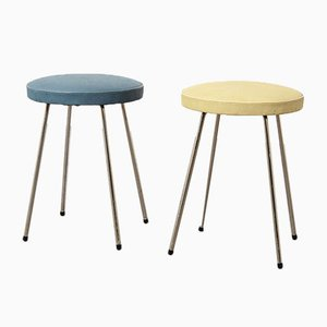 Mid-Century Stools by Rudolf Wolf for Elsrijk, Set of 2