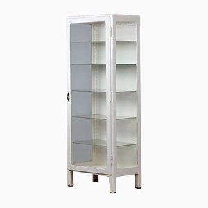Vintage Wooden Medical Cabinet, 1950s