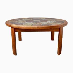 Tavolino da caffè grande di Tue Poulsen per Haslev Møbelsnedkeri, anni '60