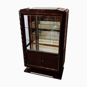 Art Deco Mahogany Cabinet from Poisson Gaston, 1930s