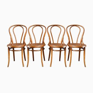 Antique Dining Chairs from Jacob & Josef Kohn, Set of 4