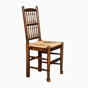 Spindle Back Dining Chairs, Set of 10