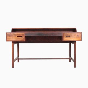 Mid-Century Danish Rosewood Desk by Kurt Østervig for KP Møbler, 1950s