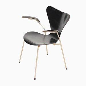 Mid-Century Armlehnstuhl von Arne Jacobsen für Fritz Hansen, 1960er