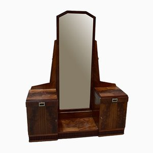 Art Deco Mahogany Dressing Table, 1920s