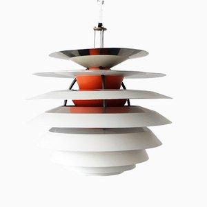 Mid-Century Modell PH Kontrast Deckenlampe von Poul Henningsen für Louis Poulsen