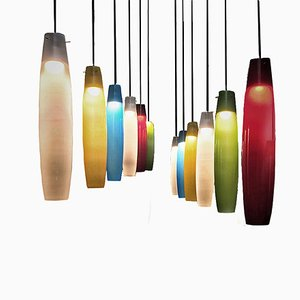 Murano Pendant Lamp by Alessandro Pianon for Vistosi, 1960s