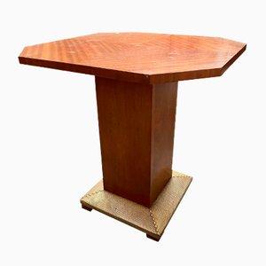 Mesa pedestal Art Déco, años 30