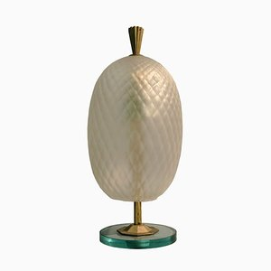 Murano Table Lamp by Fontana Arte, 1950s