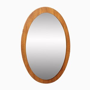 Mid-Century Spiegel mit Rahmen aus Teak