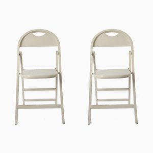 Folding Chairs by Achille & Pier Giacomo Castiglioni, 1960s, Set of 2
