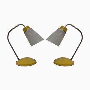 Lampade da tavolo di Lidokov, Repubblica Ceca, anni '60, set di 2
