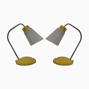 Tschechische Tischlampen von Lidokov, 1960er, 2er Set