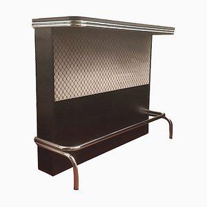 Mueble bar de cromo, años 70