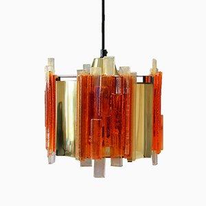 Lampe à Suspension Vintage par Claus Bolby, Danemark, 1970s