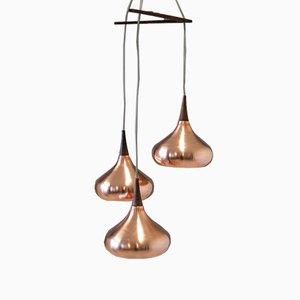 Dänische Vintage Deckenlampe von Johannes Hammerborg für Fog & Mørup