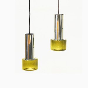 Norwegian Ceiling Lamps from Sønnico AS, 1970s, Set of 2