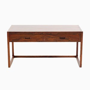 Mid-Century Rosewood Console Table