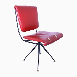 Model DU24 Desk Chair by Gastone Rinaldi for Rima, 1950s