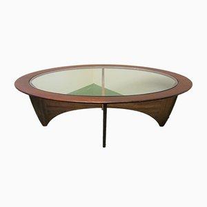 Table Basse Ovale Modèle Astro en Teck par Victor Wilkins pour G-Plan, 1960s