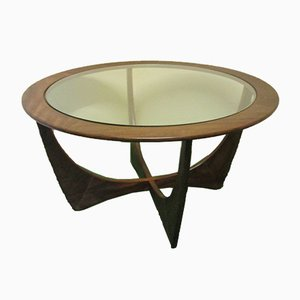 Round Model Astro Coffee Table by Victor Wilkins for G-Plan, 1960s