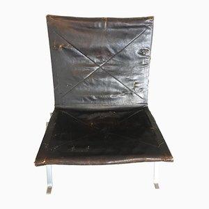 Modell PK22 Stuhl von Poul Kjaerholm für E. Kold Christensen, 1950er