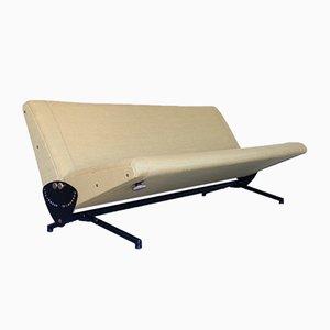 Modell D70 Sofa von Osvaldo Borsani für Tecno, 1950er