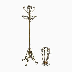 Coat Rack and Umbrella Stand Set by Pier Luigi Colli, 1950s