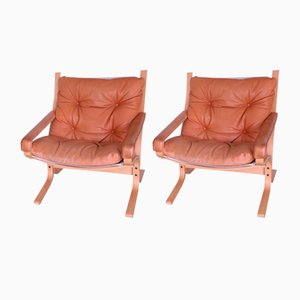 Model Flex Lounge Chairs by Ingmar Relling for Westnofa, 1970s, Set of 2