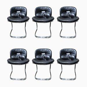 Esszimmerstühle von Gastone Rinaldi für Rima, 1970er, 6er Set