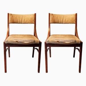 Modell 110 Esszimmerstühle von Ico Luisa Parisi für Cassina, 1960er, 2er Set