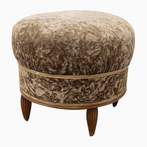 Art Deco French Ottoman, 1920s
