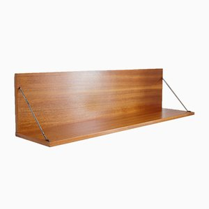 Mahogany Shelf from Interier Praha, 1968