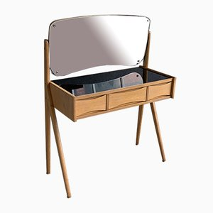 Mid-Century Danish Oak Dressing Table by Arne vodder
