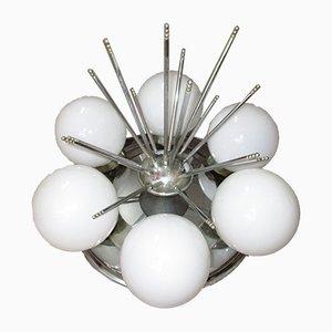 Mid-Century Sputnik Deckenlampen, 1960er, 2er Set